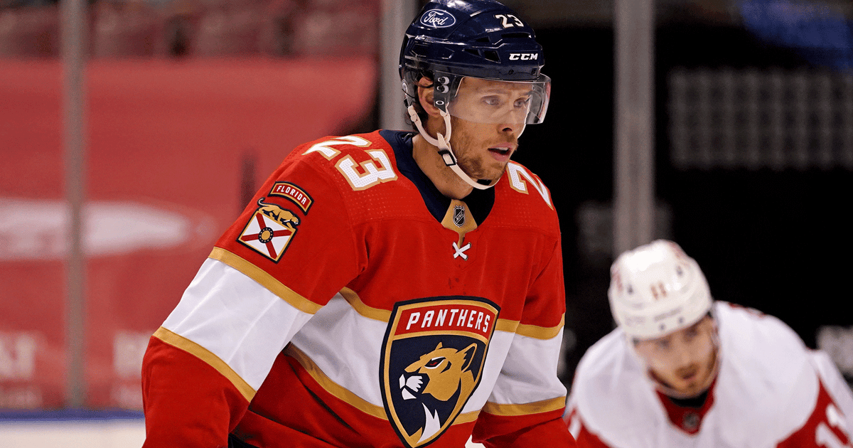 Carter Verhaeghe nets pair as Panthers kick off homestand with 4-1 win over Red Wings