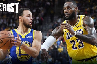 Nick Wright: LeBron & Lakers don't need Steph Curry to win a Title | FIRST THINGS FIRST thumbnail