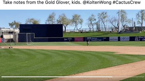 Kolten Wong, Brewers infielder