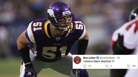 Ben Leber, former Vikings linebacker