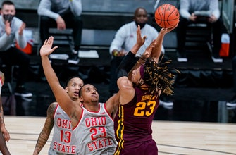 Gophers fight until the end in 79-75 loss to No. 9 Ohio State