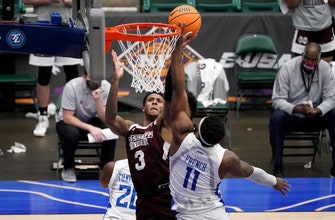 SLU Billikens' season ends with 74-68 loss to Mississippi State in NIT thumbnail