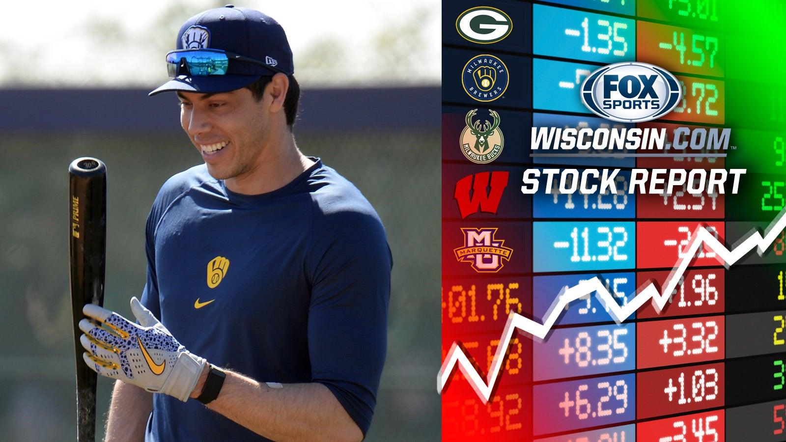 Christian Yelich Milwaukee Brewers Spring Training Baseball Player Jersey