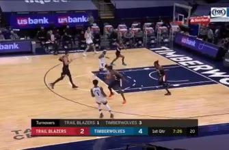 HIGHLIGHTS: Timberwolves 114, Trail Blazers 112
