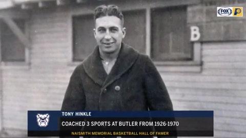 Tony Hinkle, Butler