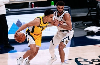 Pacers collapse in fourth quarter, fall 121-106 to Nuggets thumbnail