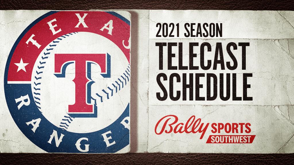 Bally Sports Southwest Announces 2021 Texas Rangers Regular Season Schedule  | FOX Sports