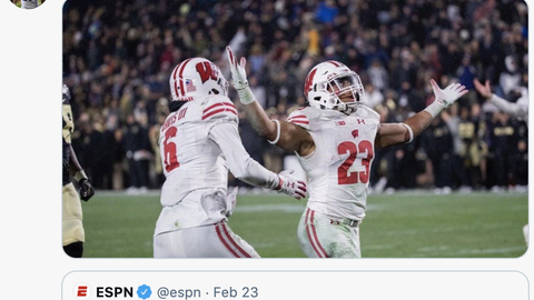 Jonathan Taylor, former Badgers running back