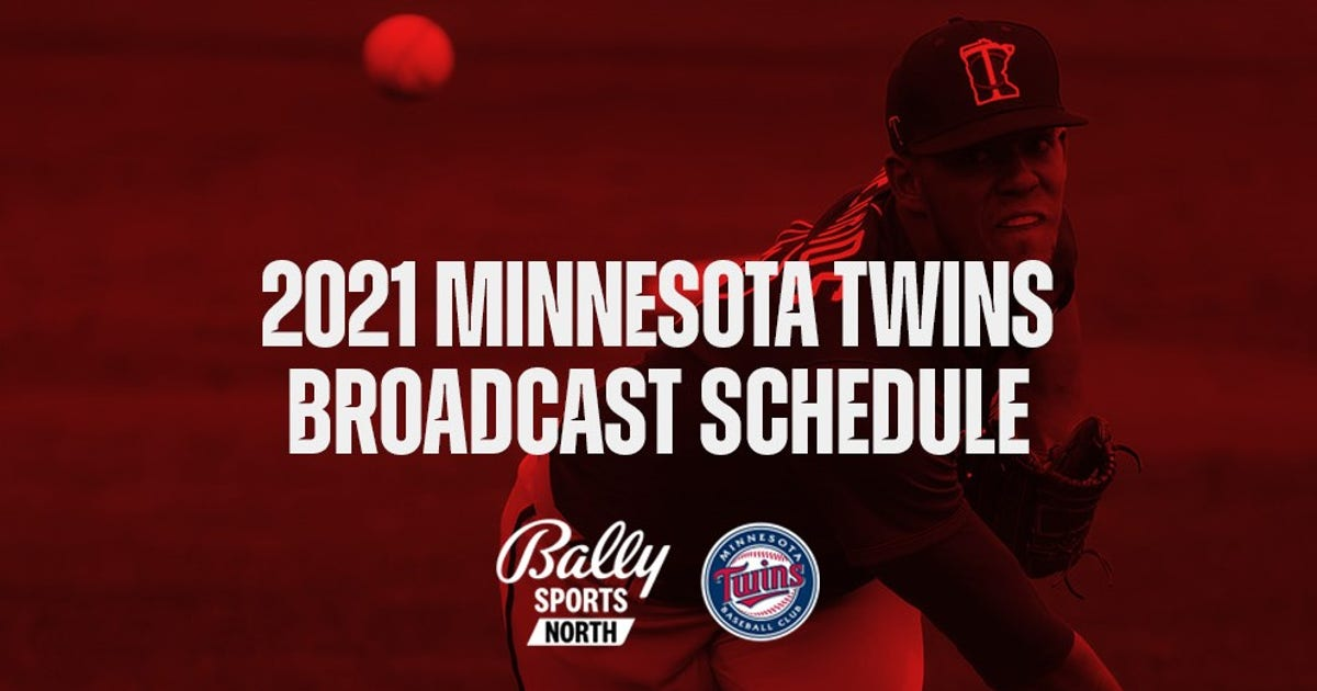 Bally Sports North announces 2021 Twins broadcast schedule