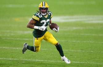 Aaron Jones hungry after re-signing with Packers thumbnail