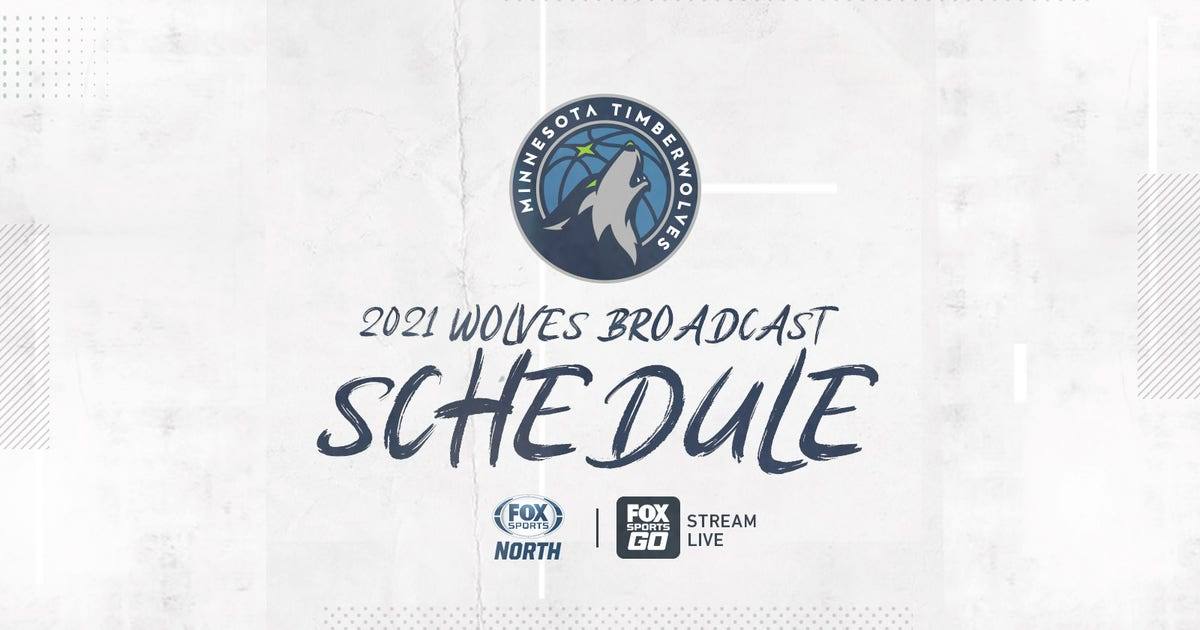 FOX Sports North announces Timberwolves 2020-21 second half broadcast schedule