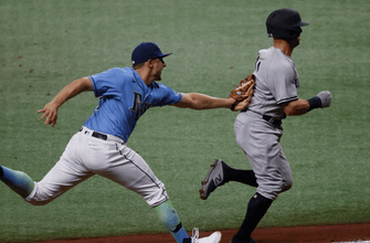 Rays can't complete series sweep, fall to Yankees in extras