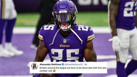 Alexander Mattison, Vikings running back