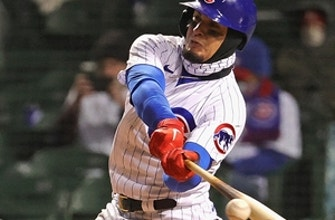 Javier Báez turns around and bats lefty in Cubs' 16-4 blowout win over Mets thumbnail