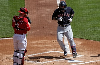 Indians club three homers to get by Reds, 6-3 thumbnail