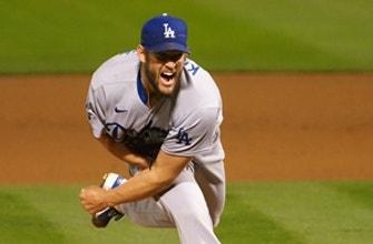 Clayton Kershaw cruises through seven innings as Dodgers beat Athletics, 5-1