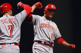 Joey Votto goes deep in Reds' 3-0 shutout over Giants