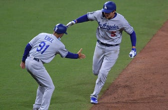 Dodgers explode for five runs in the 12th to defeat Padres, 11-6, in instant classic