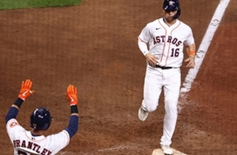 Astros ride four-run eighth to 7-5 comeback win over Mariners thumbnail