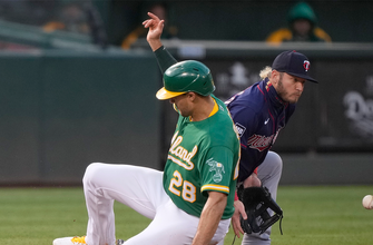 Seth Brown knocks in lone run in Athletics' 1-0 win over Twins thumbnail