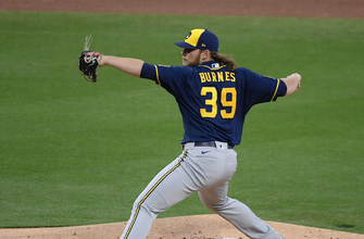Corbin Burnes strikes out 10 Padres in Brewers 6-0 shutout thumbnail