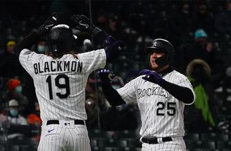 C.J. Cron knocks in five runs as Rockies beat Astros, 6-2 thumbnail