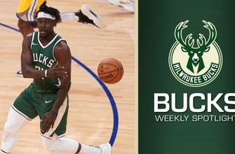 Jrue 'Big Money' Holiday keeps getting better with Bucks