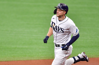 Mike Zunino, Austin Meadows go back-to-back in Rays dominant win over Royals, 14-7 thumbnail