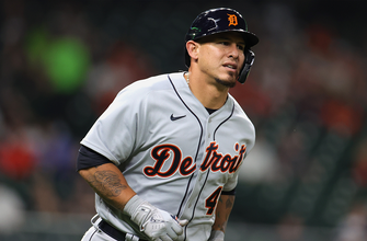 Tigers belt five home runs including two from Wilson Ramos in 8-2 over Astros thumbnail