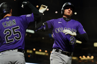 Ryan McMahon and C.J. Cron power Rockies to 7-5 win over Giants in extras thumbnail