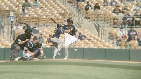 Keston Hiura, Brewers infielder