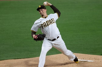 Blake Snell goes four innings striking out eight in Padres debut