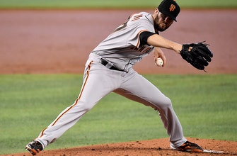 Giants only need one run to get past Marlins in 1-0 victory thumbnail