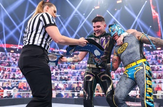 Could Tyson Fury and his son follow in Rey and Dominik Mysterio's footsteps someday?