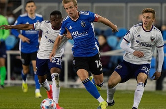Jackson Yueill scores two, Earthquakes beat DC United, 4-1