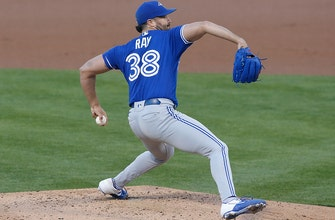 Blue Jays beat A's, 9-5, as Robbie Ray strikes out nine thumbnail