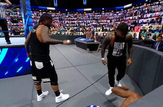 Jimmy and Jey Uso return to face The Street Profits