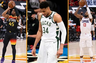 Nick Wright breaks down Game 1 of Clippers- Jazz series, why Game 3 against the Nets is Giannis' most important game of his career | THE HERD