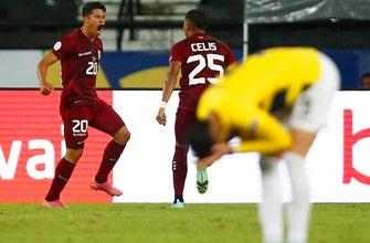 Venezuela salvages miracle 2-2 draw in closing moments vs. Ecuador