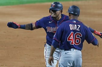 Twins score three in the 10th to secure 7-5 win over Rangers