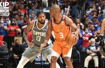 Chris Broussard: The Clippers' nerves and lack of poise is responsible for Game 4 loss to Suns | UNDISPUTED