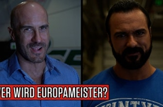 Wer wird Europameister? WWE Superstars tippen den Sieger der EM.