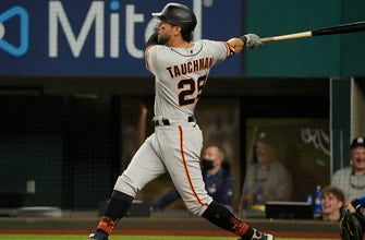 Mike Tauchman belts grand slam for Giants in 9-4 win over Rangers thumbnail
