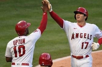 Angels ride three-run sixth to 6-1 win, sweep of Royals