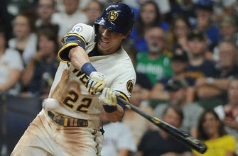 Christian Yelich doubles, drives in a run as Brewers edge Cubs, 2-1 thumbnail