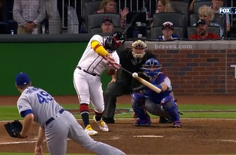 Braves extend lead over Dodgers to 6-4 thanks to Abraham Almonte's pinch-hit solo homer thumbnail