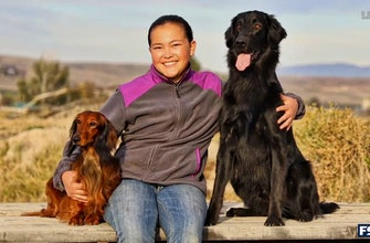 Charlotte Wilder introduces us to Ava and her diabetic alert dog, Presley