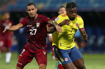 Colombia blanked on 12 shots in first half by Venezuela