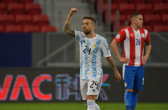 Papu Gomez gives Argentina an early 1-0 lead over Paraguay