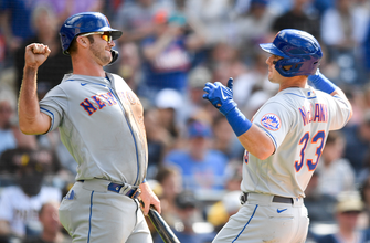 James McCann, Dominic Smith go deep to carry Mets past Padres, 6-2 thumbnail